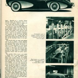 Road and Track October 1955 page 37 - Flajole Forerunner