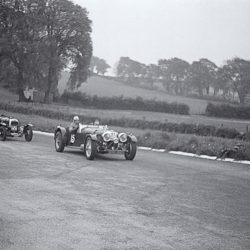 SS Jaguar 100 2.5 litre roadster by Truett