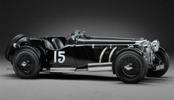 SS Jaguar 100 by Truett