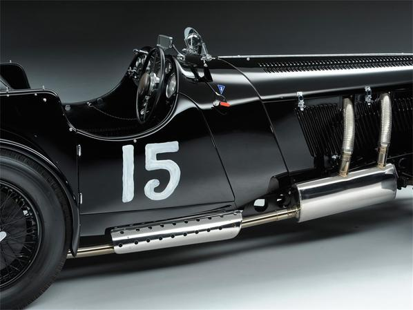 SS Jaguar 100 by Truett exhaust system