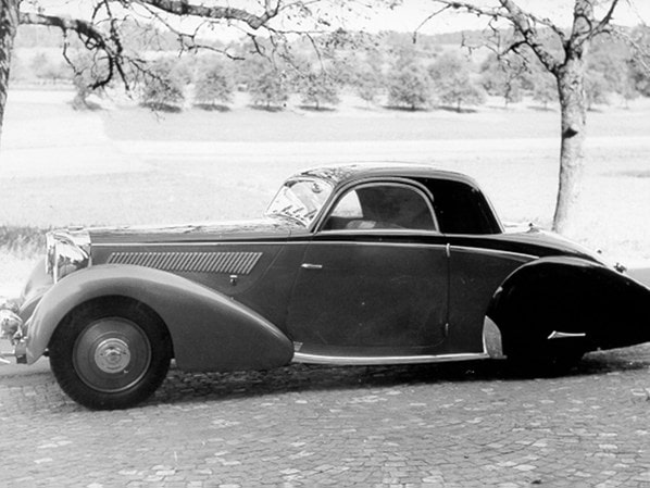 SS Jaguar 3.5 Litre Coupe by Graber early photo