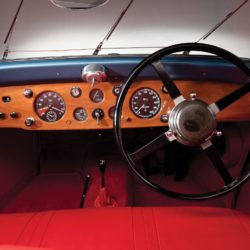 SS Jaguar Coupe by Graber interior