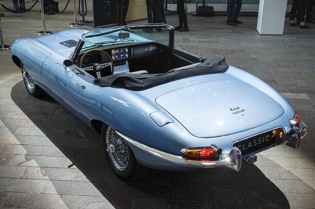 Jaguar E-Type проект Zero