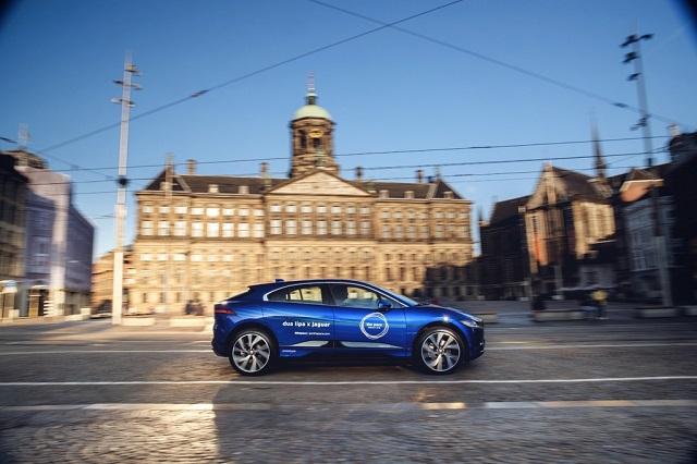 Jaguar I-PACE в Амстердаме