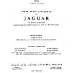 Jaguar Mk 10 4.2 Litre Spare Parts Catalogue