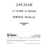 Jaguar Mk X 4.2 litre Service Manual
