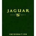 Jaguar S-Type Information from the Press Officer 1963