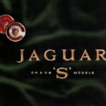 Jaguar S-Type card folder 1964