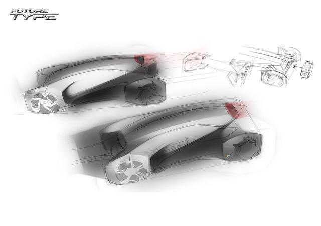 Jaguar дизайн будущего