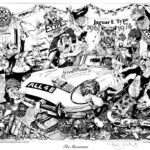 The Showroom cartoon 1983