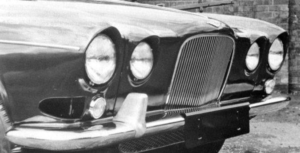 Jaguar Mark X later prototype