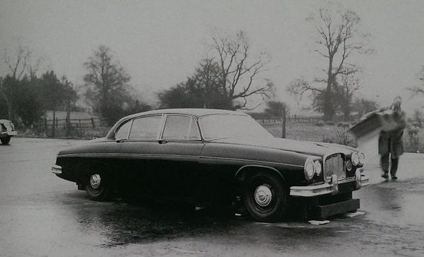 Jaguar Mark X prototype
