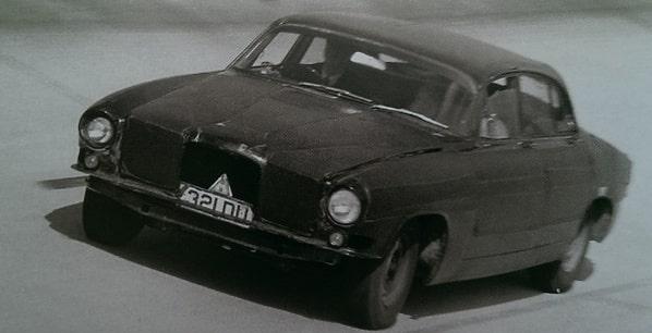 Jaguar Mk X early prototype