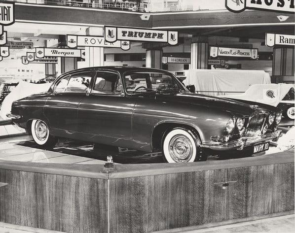 Jaguar Mk X on Earls Court Motor Show 1961