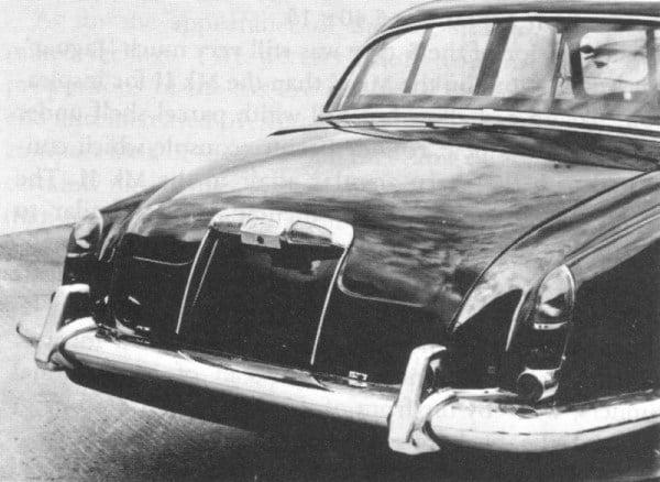 Jaguar S-Type early prototype
