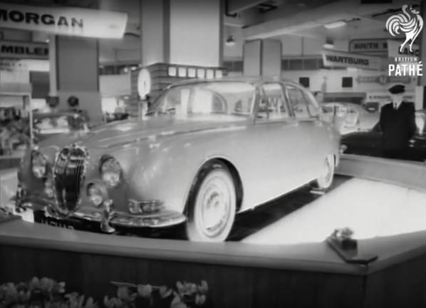 Jaguar S-Type on Earls Court Motor Show 1963