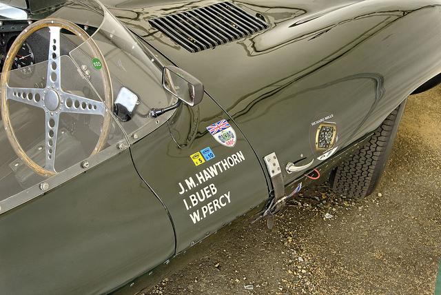 Jaguar D-Type Майка Хауторна
