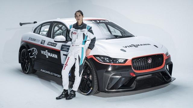 Jaguar I-PACE электромобиль для гонок