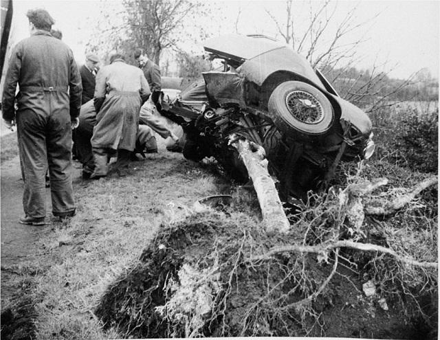 Майк Хауторн - катастрофа, 1959 год