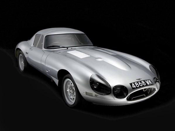 Jaguar E-Type Lindner-Nocker Low Drag Coupe recreated