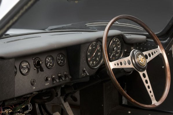 Jaguar E-Type Lindner-Nocker Low Drag interior