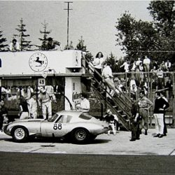 Jaguar E-Type Lindner-Nocker Low Drag on Nurburgring 1964