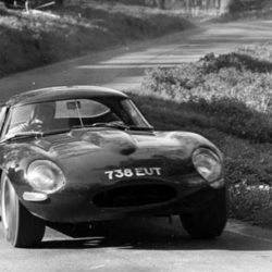 Jaguar E-Type Low Drag Coupe (ZX 537/30) 738 EUT