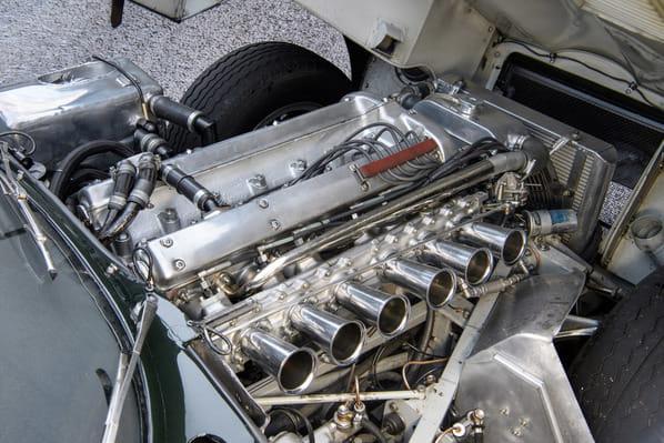Jaguar E-Type Lumsden-Sargent 49 FXN engine