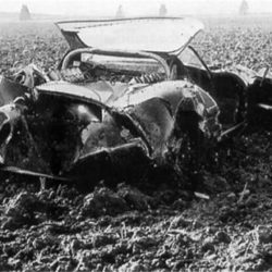 Jaguar XJ13 after crash