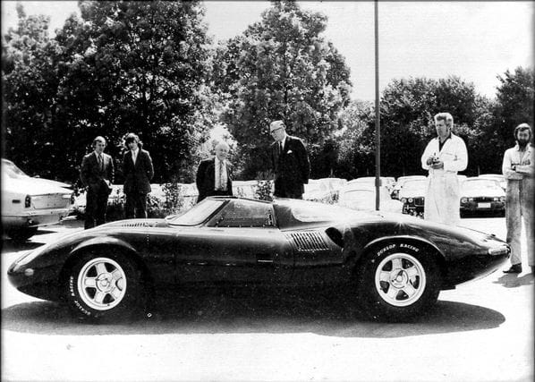 Jaguar XJ13 after rebuild in 1973