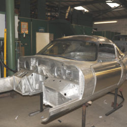 Reconstruction of Jaguar E-Type Low Drag Peter Lindner