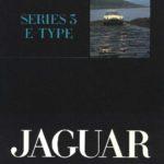 Jaguar E-Type Series 3 stapled brochure 1973