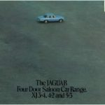 Jaguar Four Door Saloon Car Range 1976