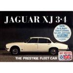 Jaguar XJ 3.4 Series 2 brochure 1975
