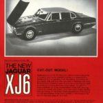 Jaguar XJ6 Cut-out model 1968