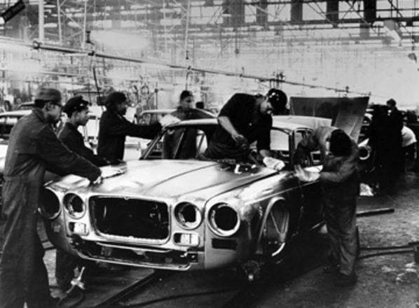 Creation Jaguar XJ Series 1 on Browns Lane factory