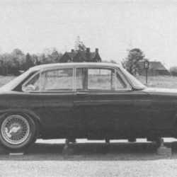 Early Jaguar XJ4 prototype