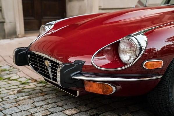 Jaguar E-Type Series 3 headlamps