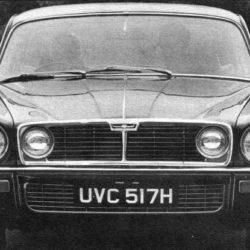 Jaguar XJ Series 2 body face number 2