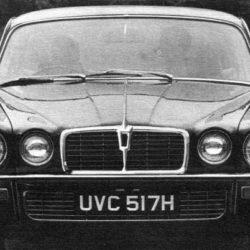 Jaguar XJ Series 2 body face number 3