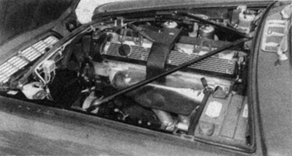 Jaguar XJ Series 2 engine - Autocar photo 1975