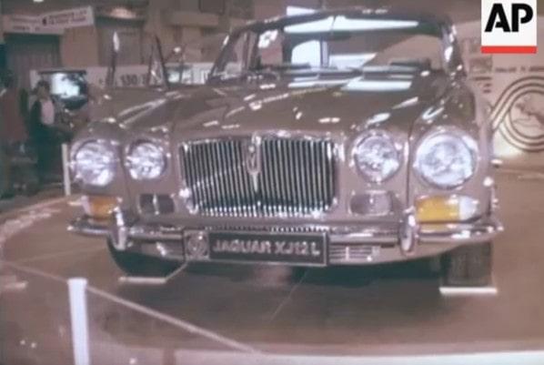 Jaguar XJ12L on Earls Court Motor Show 1972