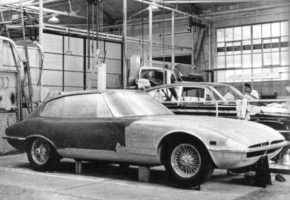 Jaguar XJ21 later body prototype