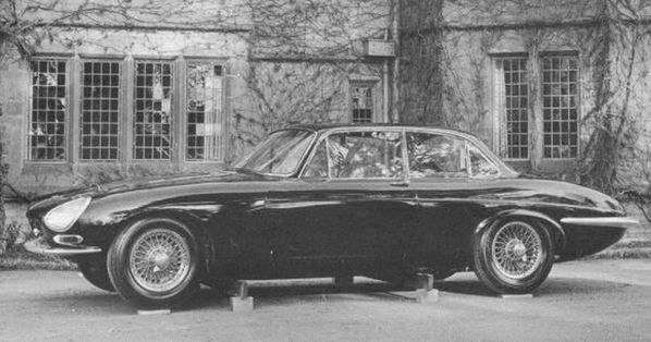 Jaguar XJ4 - E-Type Saloon Prototype 1962