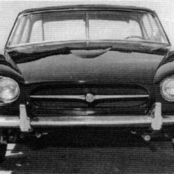 Jaguar XJ4 early front view