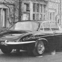 Jaguar XJ4 early prototype