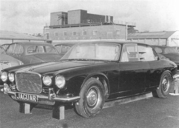Jaguar XJ4 final prototype