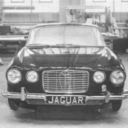 Jaguar XJ4 front view prototype