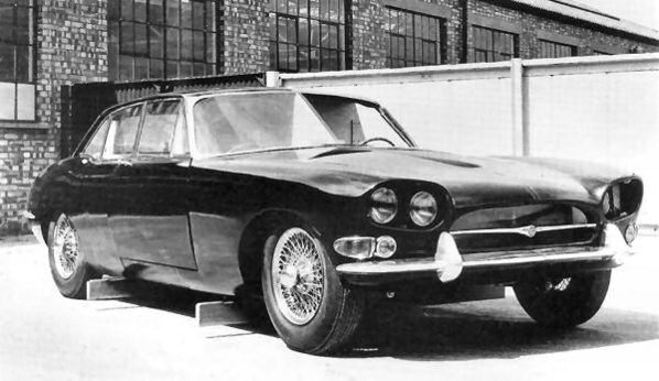 Jaguar XJ4 later prototype