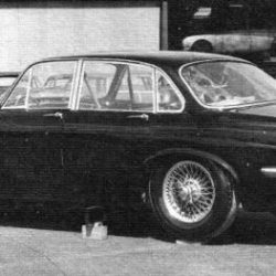 Jaguar XJ4 prototype (early XJ6)